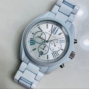 Michael kors white Bradshaw watch